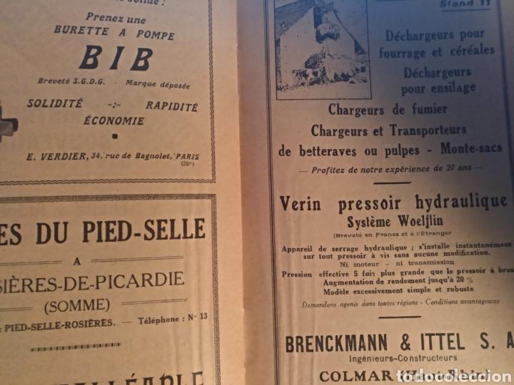 Coches: Catálogo de la 9 salon de MAQUINARIA AGRÍCOLA 1930 - Foto 4 - 104986227