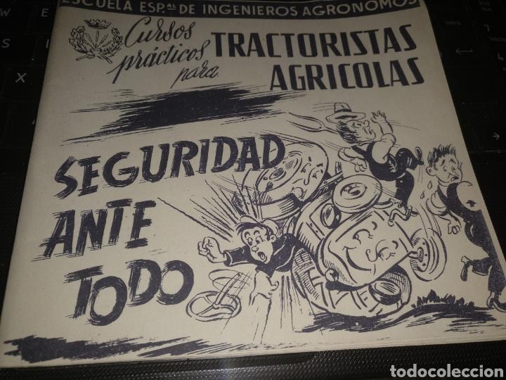 CURSO PARA TRACTORISTAS AGRÍCOLAS (Coches y Motocicletas - Coches Antiguos (hasta 1.939))