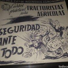 Coches: CURSO PARA TRACTORISTAS AGRÍCOLAS. Lote 104987042