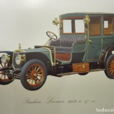 Coches: LÁMINAS COCHES ANTIGUOS. Lote 105501559