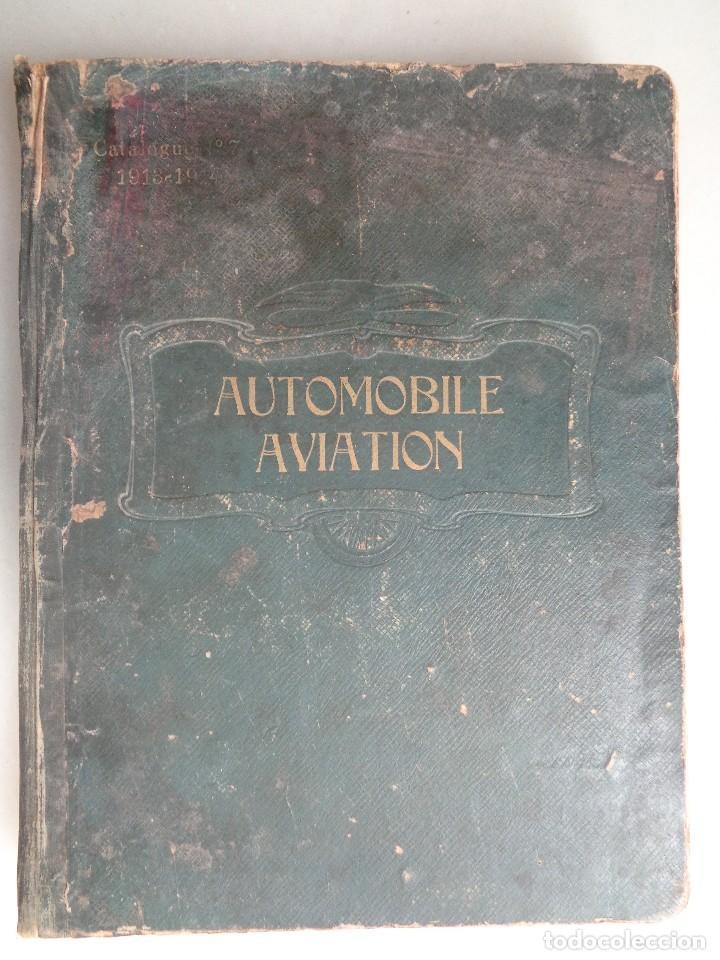 CATALOGO RAYNAUD ET BOURCERET Nº7.AUTOMOVILE AVIATION AÑO 1913-1914 (Coches y Motocicletas - Coches Antiguos (hasta 1.939))