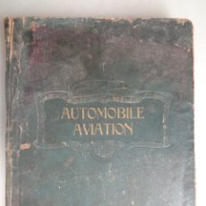 Coches: CATALOGO RAYNAUD ET BOURCERET Nº7.AUTOMOVILE AVIATION AÑO 1913-1914. Lote 126155979