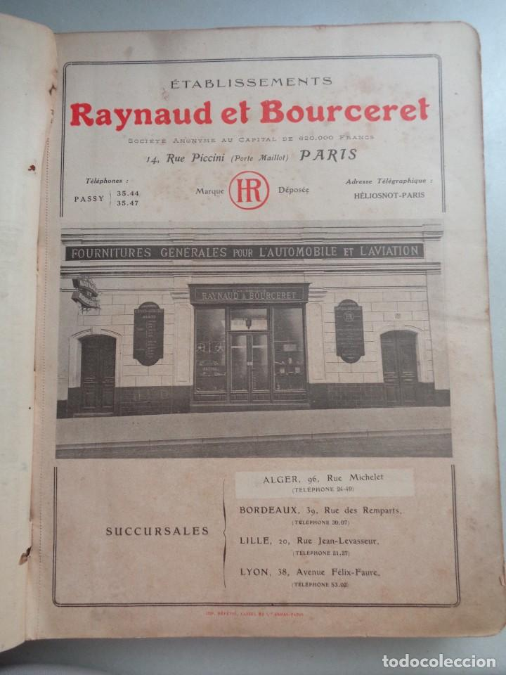 Coches: CATALOGO RAYNAUD ET BOURCERET Nº7.AUTOMOVILE AVIATION AÑO 1913-1914 - Foto 2 - 126155979