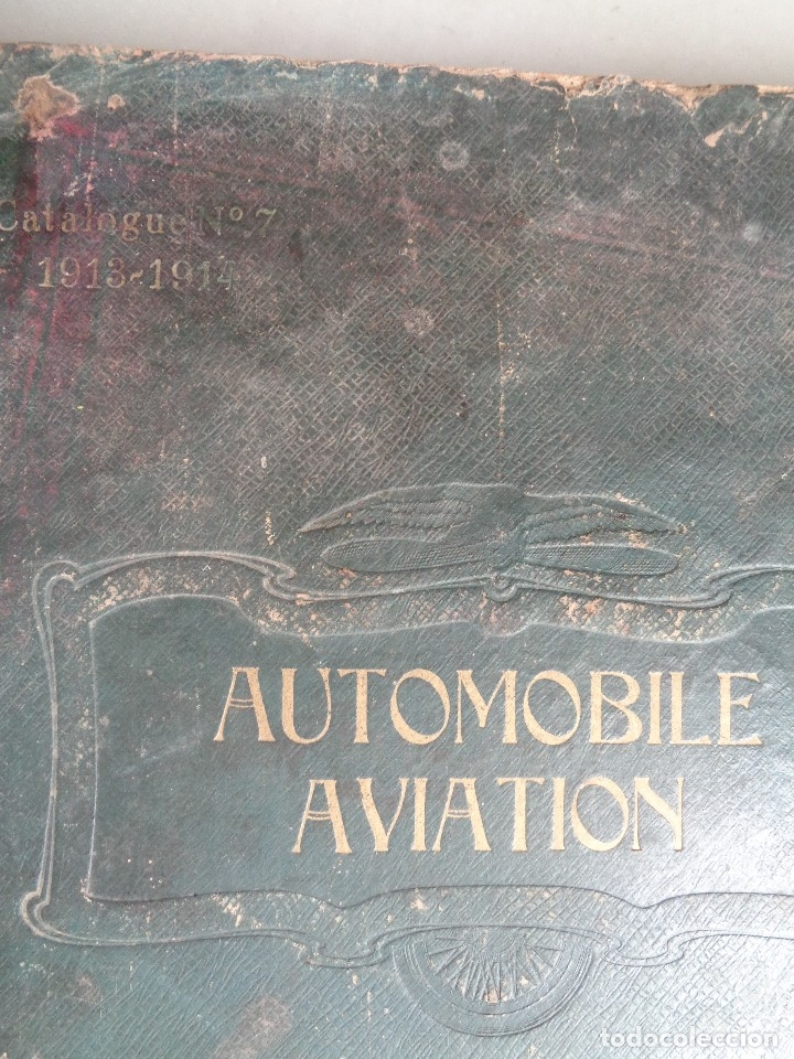 Coches: CATALOGO RAYNAUD ET BOURCERET Nº7.AUTOMOVILE AVIATION AÑO 1913-1914 - Foto 13 - 126155979