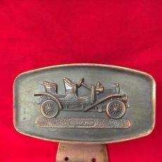 Coches: ANTIGUA PLACA METÁLICA COCHE BUICK 1908. Lote 126430954
