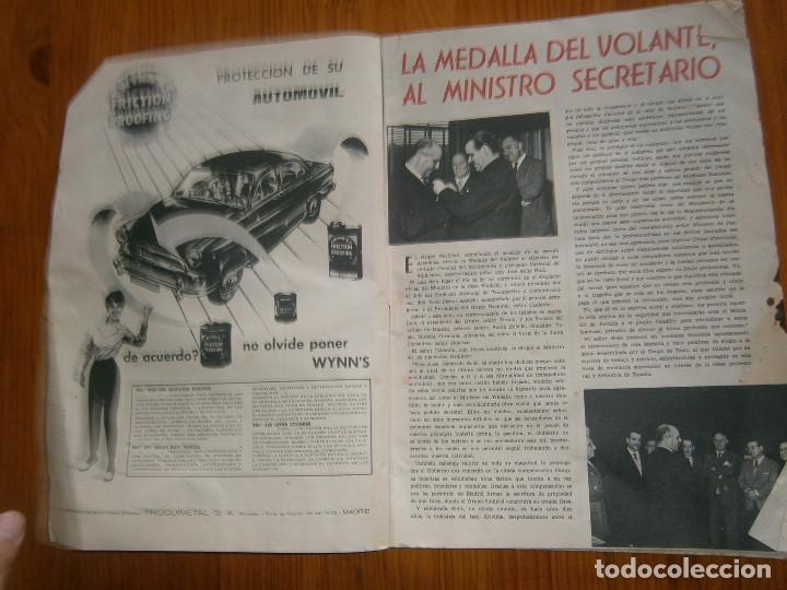 Coches: ¡¡REVISTA DEL AUTOMOVIL DE SERVICIO PUBLICO 'MUTUA,NACIONAL, DE AUTO-TAXIS Y GRAN TURISMO¡¡ - Foto 4 - 136103362