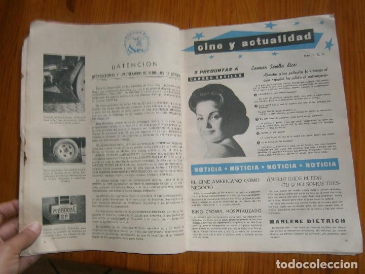 Coches: ¡¡REVISTA DEL AUTOMOVIL DE SERVICIO PUBLICO 'MUTUA,NACIONAL, DE AUTO-TAXIS Y GRAN TURISMO¡¡ - Foto 5 - 136103362