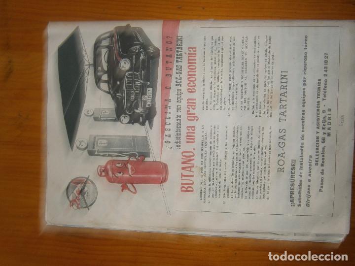 Coches: ¡¡REVISTA DEL AUTOMOVIL DE SERVICIO PUBLICO 'MUTUA,NACIONAL, DE AUTO-TAXIS Y GRAN TURISMO¡¡ - Foto 7 - 136103362
