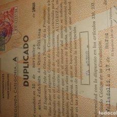 Coches: DOCUMENTACIÓN DE CHENARD-WALCKER 1928. Lote 136116914
