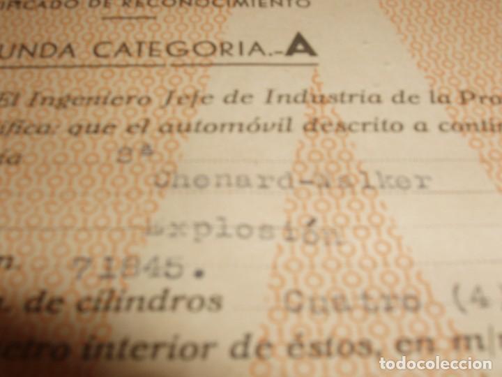 Coches: Documentación de Chenard-Walcker 1928 - Foto 2 - 136116914