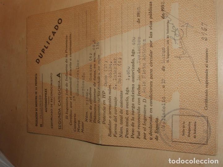 Coches: Documentación de Chenard-Walcker 1928 - Foto 7 - 136116914