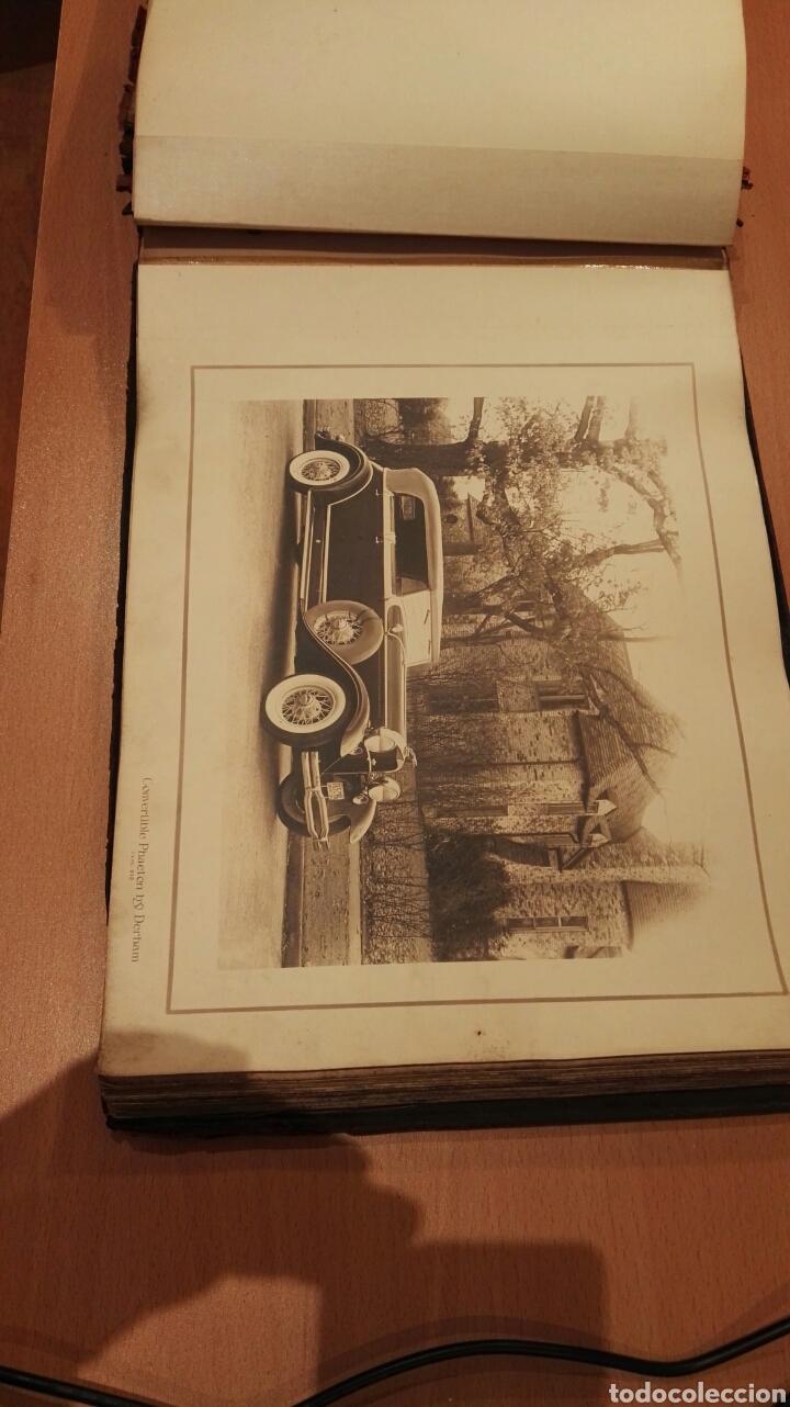 Autos: Catalogo antiguo de fotos coches Lincoln. - Foto 5 - 143817838