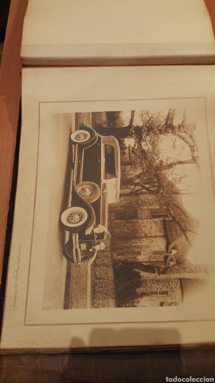 Autos: Catalogo antiguo de fotos coches Lincoln. - Foto 28 - 143817838
