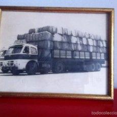 Coches: FOTO ORIGINAL CAMIÓN PEGASO. Lote 145407112