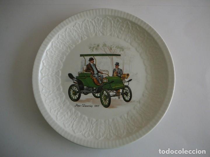 PLATITO POPE-WAVERLEY 1907. PONTESA. MADE IN SPAIN. (Coches y Motocicletas - Coches Antiguos (hasta 1.939))