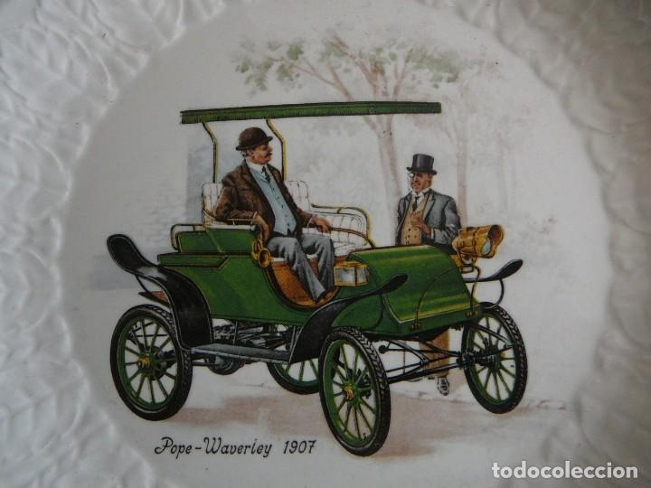 Coches: Platito Pope-Waverley 1907. Pontesa. Made in Spain. - Foto 2 - 147482374