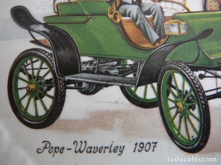 Coches: Platito Pope-Waverley 1907. Pontesa. Made in Spain. - Foto 4 - 147482374