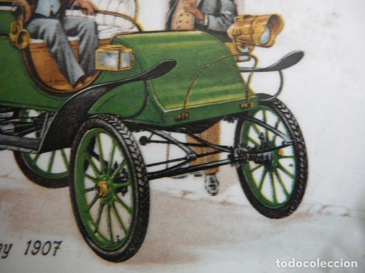 Coches: Platito Pope-Waverley 1907. Pontesa. Made in Spain. - Foto 5 - 147482374