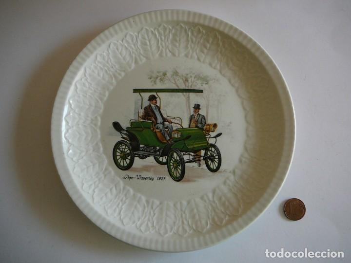 Coches: Platito Pope-Waverley 1907. Pontesa. Made in Spain. - Foto 12 - 147482374