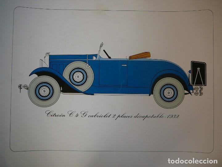 Coches: Lámina Citroen C4 G cabriolet 2 plazas descapotable - 1932 - Foto 2 - 147495718