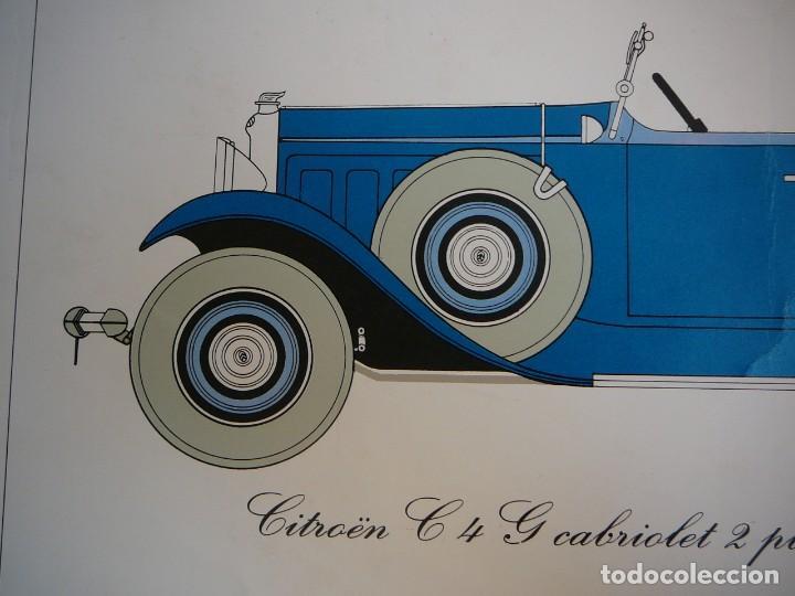Coches: Lámina Citroen C4 G cabriolet 2 plazas descapotable - 1932 - Foto 3 - 147495718