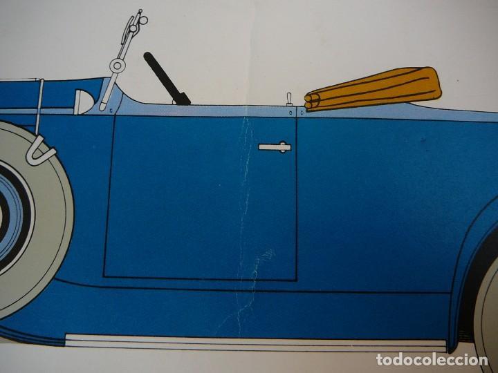 Coches: Lámina Citroen C4 G cabriolet 2 plazas descapotable - 1932 - Foto 4 - 147495718