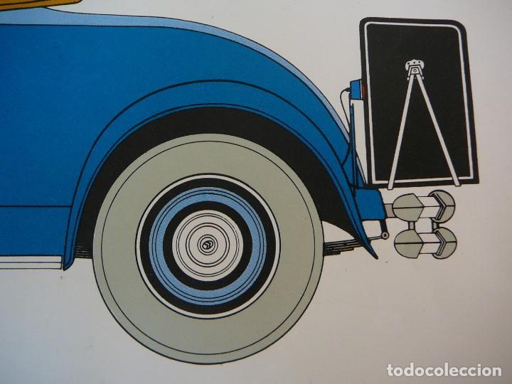 Coches: Lámina Citroen C4 G cabriolet 2 plazas descapotable - 1932 - Foto 5 - 147495718