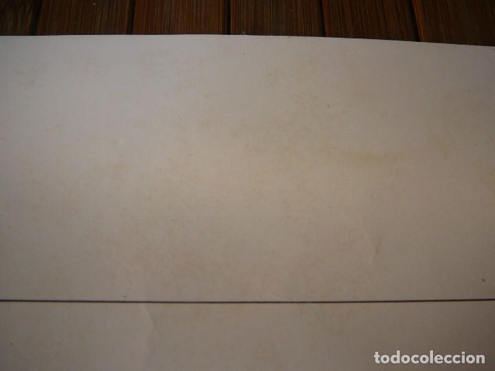 Coches: Lámina Citroen B14 G cabriolet 4 plazas descapotable - 1928 - Foto 6 - 147498330