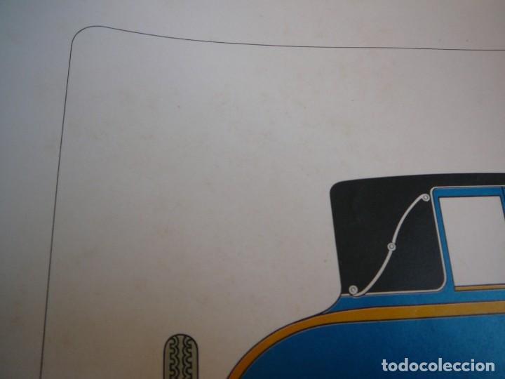 Coches: Lámina Citroen B14 G cabriolet 4 plazas descapotable - 1928 - Foto 7 - 147498330