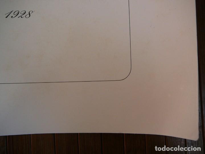 Coches: Lámina Citroen B14 G cabriolet 4 plazas descapotable - 1928 - Foto 13 - 147498330