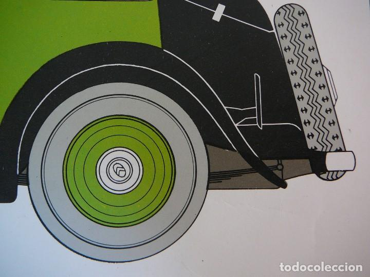 Coches: Lámina Citroen 15 AL coach - 1932 - Foto 5 - 147508706