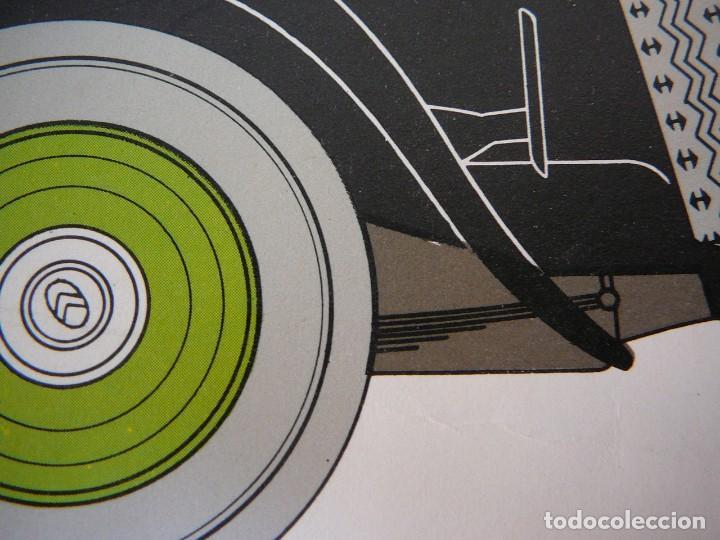 Coches: Lámina Citroen 15 AL coach - 1932 - Foto 8 - 147508706