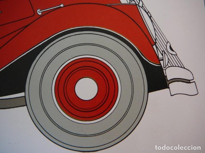 Coches: Lámina Citroen cabriolet 22 cv tracción delantera - 1934 - Foto 5 - 147512414