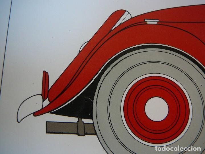 Coches: Lámina Citroen cabriolet 22 cv tracción delantera - 1934 - Foto 7 - 147512414