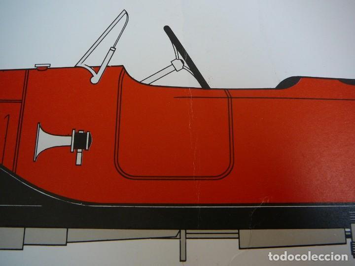 Coches: Lámina Citroen B 2 Caddy sport - 1922 - Foto 6 - 147520770