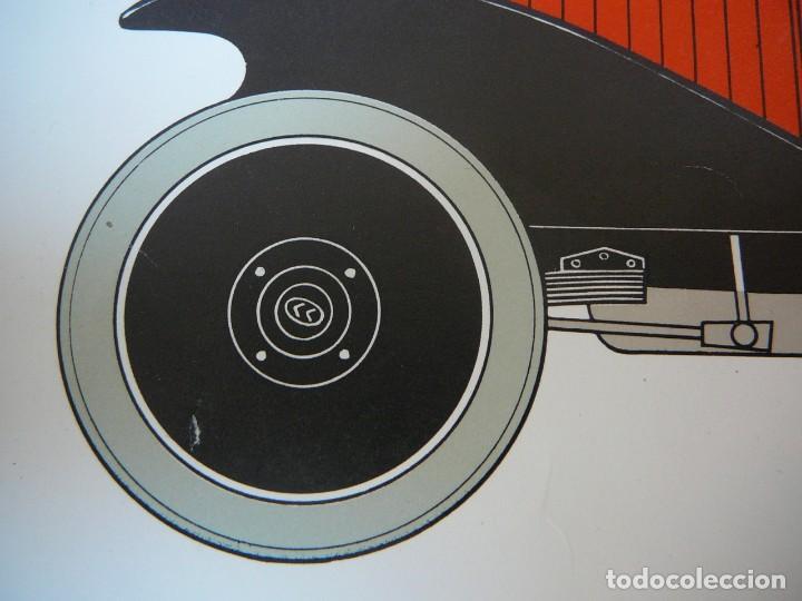 Coches: Lámina Citroen B 2 Caddy sport - 1922 - Foto 7 - 147520770