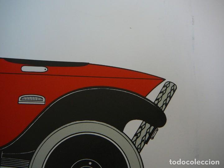 Coches: Lámina Citroen B 2 Caddy sport - 1922 - Foto 9 - 147520770