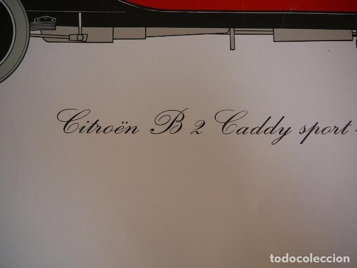 Coches: Lámina Citroen B 2 Caddy sport - 1922 - Foto 11 - 147520770