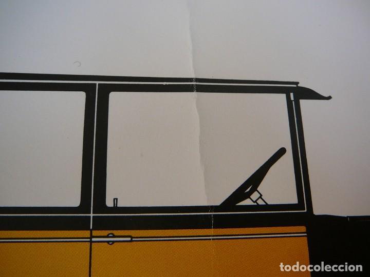 Coches: Lámina Citroen B 14 coach - 1927 - Foto 5 - 147529054