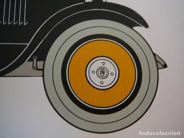 Coches: Lámina Citroen B 14 coach - 1927 - Foto 6 - 147529054