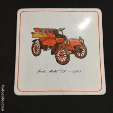 Coches: SALVAMANTELES FORD MODEL A 1903 PROTEX USA PRO-TEX TRIVET VINTAGE COCHES. Lote 176355100