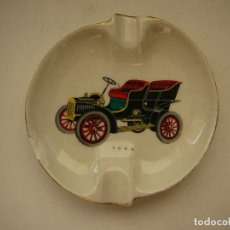 Coches: CENICERO FORD CERÁMICA O PORCELANA ROUVRE. Lote 181621756