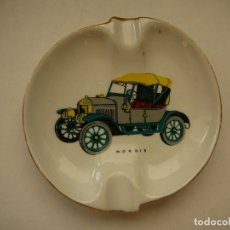 Coches: CENICERO MORRIS CERÁMICA O PORCELANA ROUVRE. Lote 181621837