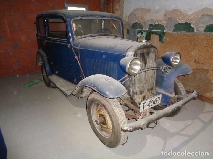 COCHE OPEL P4 AÑO 1934 (Coches y Motocicletas - Coches Antiguos (hasta 1.939))