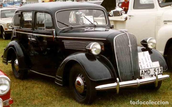 Coches: Insignia de un Opel Super 6 1936-38. Wehrmacht II Guerra Mundial - Foto 8 - 202875188