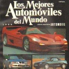 Coches: LOS MEJORES AUTOMOVILES DEL MUNDO. EDICION ESPECIAL DEL AUTOMOVIL 1996.. Lote 206820517