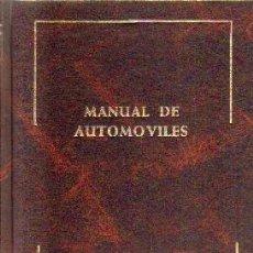 Coches: MANUAL DE AUTOMOVILES. PAZ-ARIAS. A-MOT-337. Lote 208566175