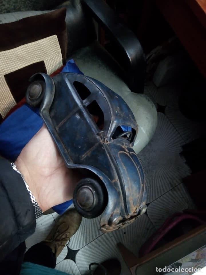 Coches: 1º PROTOTIPO MAQUETA Volkswagen BEETLE V1..1934 de FERDINAND PORSCHE para ADOLF HITLER.. único. - Foto 9 - 212564175