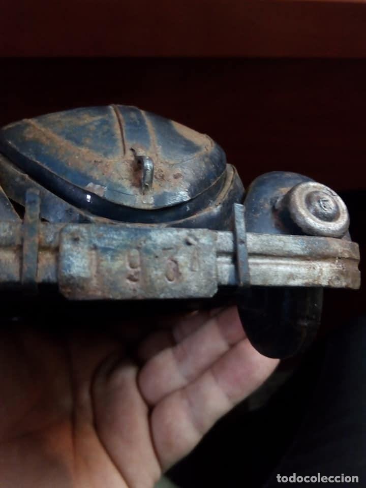 Coches: 1º PROTOTIPO MAQUETA Volkswagen BEETLE V1..1934 de FERDINAND PORSCHE para ADOLF HITLER.. único. - Foto 13 - 212564175