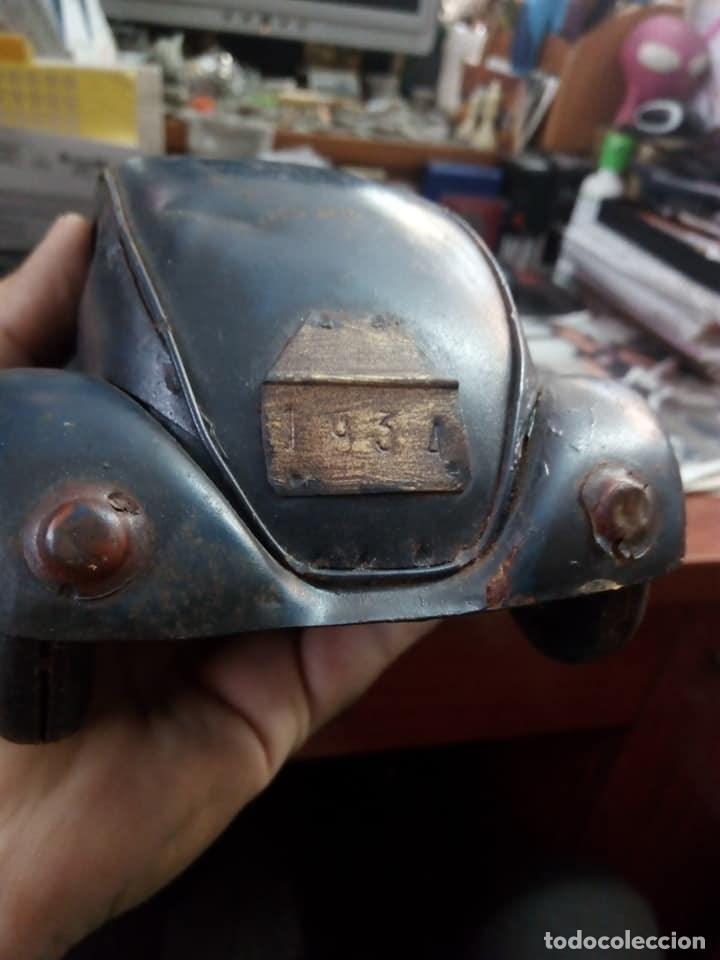 Coches: 1º PROTOTIPO MAQUETA Volkswagen BEETLE V1..1934 de FERDINAND PORSCHE para ADOLF HITLER.. único. - Foto 4 - 212564175